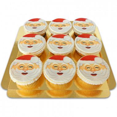 Kerstman Cupcakes