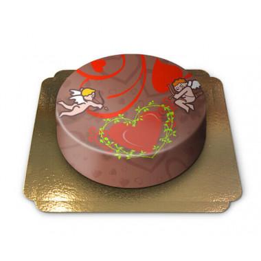 Valentijnsdag taart