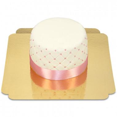 Happy Birthday luxe taart - verschillende kleuren