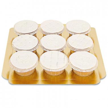Deluxe Cupcakes, 9 Stuks