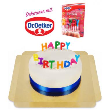 Dr. Oetker taart – Verschillende kleuren