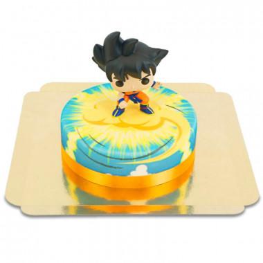 Son Goku Dragon Ball op Nimbus-taart