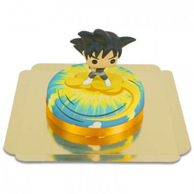 Goku Black van Dragon Ball op Nimbus-taart