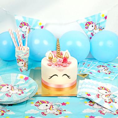 Eenhoorn partyset inclusief taart
