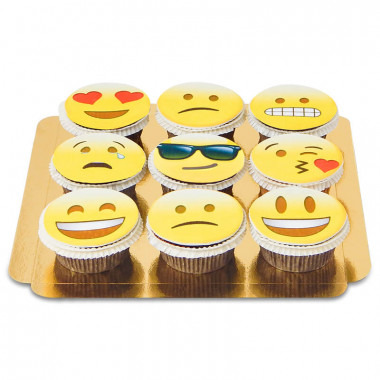 9 Emotie-Cupcakes