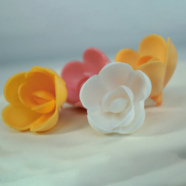 Eetbare rozen (4 stuk)