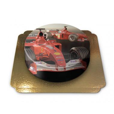 Autocoureur taart