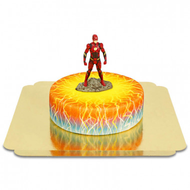 Flash op elektriciteit taart