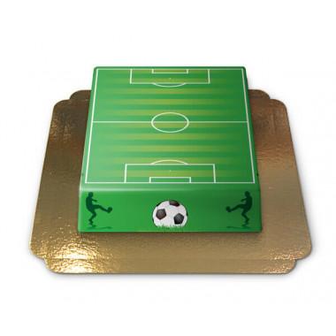Voetbalveldtaart