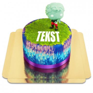 Fortnite-figuur op taart