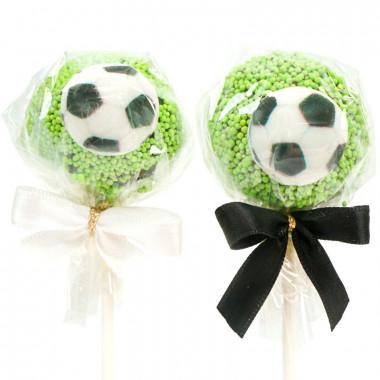 Voetbal cake-pops (12 stuks)