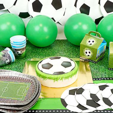 Voetbal partyset - inclusief taart