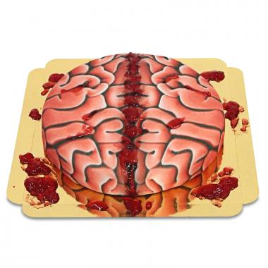 Halloween Hersenen taart