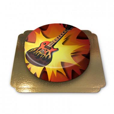 Elektrische gitaar-taart