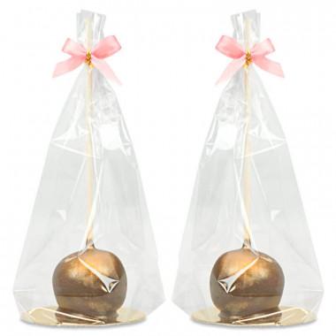 Luxe gouden Cake-Pops (10 Stuks)