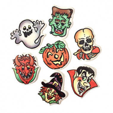 Halloween-decoratieset (7 stuks)