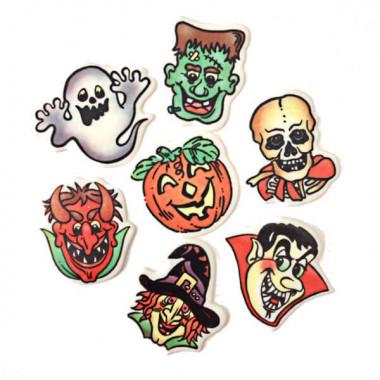 Halloween-decoratieset,  (7 stuks)