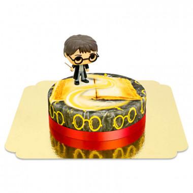 Harry Potter op tovenaar taart