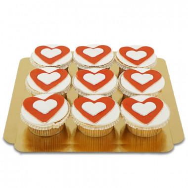 Harten Cupcakes