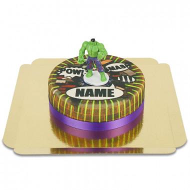 Hulk op Comic taart