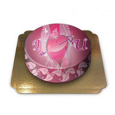 I love you taart