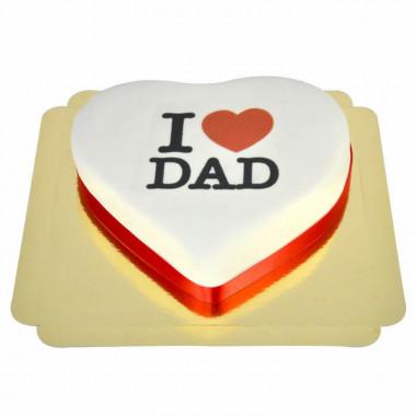 """""""I Love Dad""""-taart"""