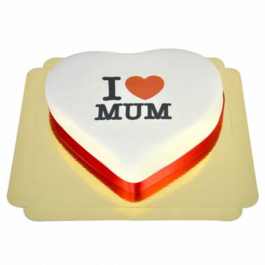 """I Love Mum""-taart"