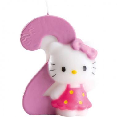 Hello Kitty taartenkaars nummer 2