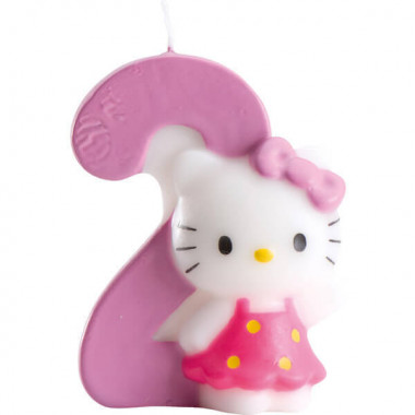 Hello Kitty taartenkaars nummer 2