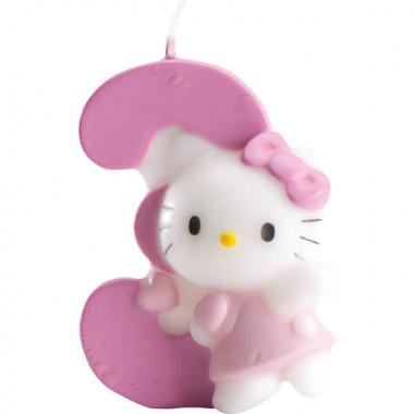 Hello Kitty taartenkaars nummer 3
