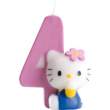Hello Kitty taartenkaars nummer 4