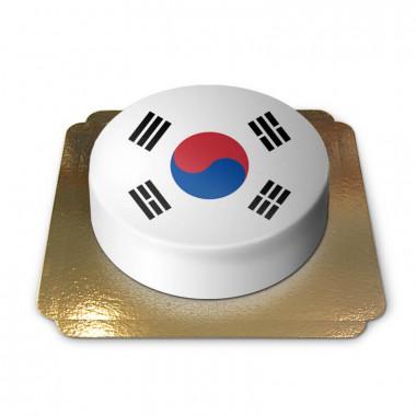 Zuid-Korea taart