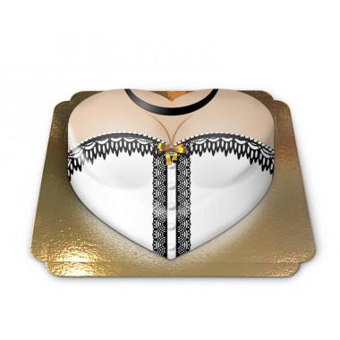 Witte-hartvormige-corset-taart