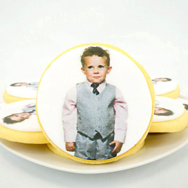 Foto koekjes, rond (12 stuks)