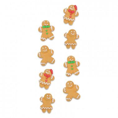 Kerstkoekjes suikerdecoratie (8 stuks)