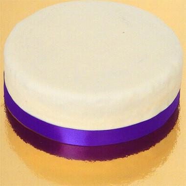 Smal effen taartenlint, Lavendel