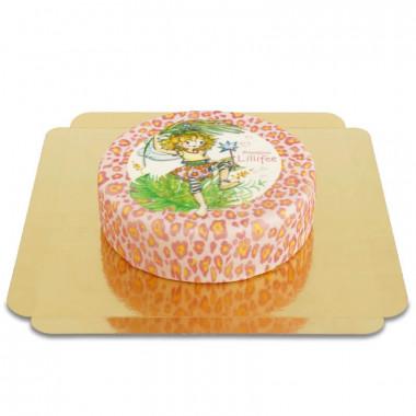 Prinses Lillifee taart met luipaard patroon
