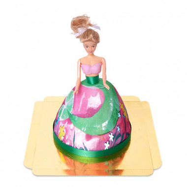 Zeemeermin pop-taart