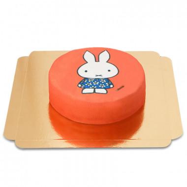 nijntje taart rood