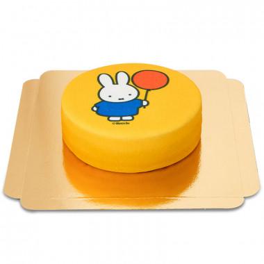 nijntje taart geel