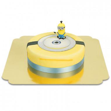 Minion op taart