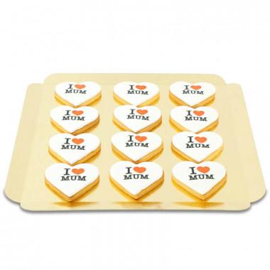 I Love Mum koekjes (12 stuks)