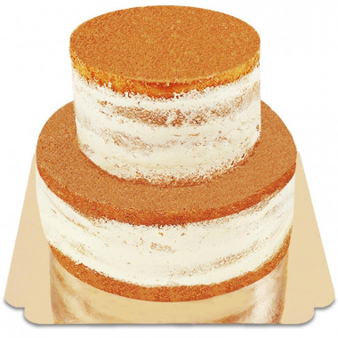 Naked Cake tweedelig
