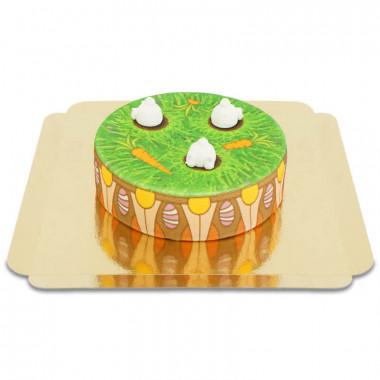 Konijntjes op bloempot-taart