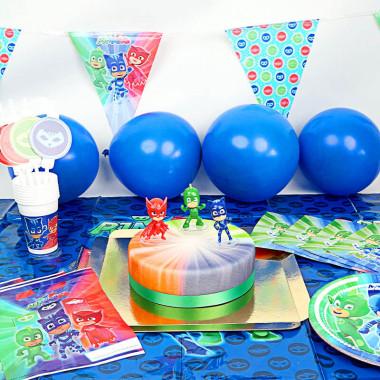 PJ Maskers party set incl. taart