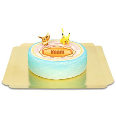 Pokemon op medaille taart