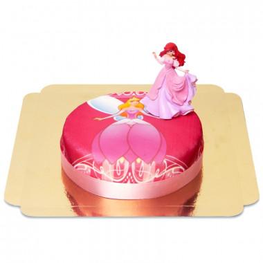 Prinsessen taart met Arielle