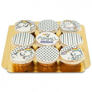 Chubby Unicorn cupcakes
