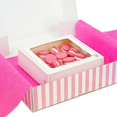 Roze Macarons