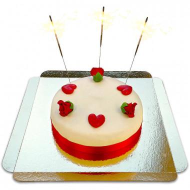 Decoratieset Valentijnsdag, rood